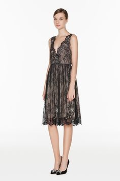 b900fa57efa1 TWIN-SET Simona Barbieri    SS15    Dresses    Embroidered Lace Dress     K2S5A1