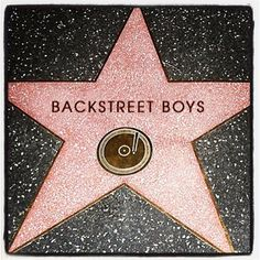 What perfect timing for the Backstreet Boys to get their star on the Hollywood Walk of Fame? Description from fordpride.blogspot.com. I searched for this on bing.com/images