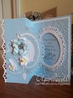 folded cards, fold card, spellbinders cards, paper crafts, beauti card