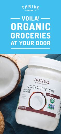 Members save 25-50% off premium, organic foods and healthy products and get FREE delivery to their door! Thrive Market is making healthy living easy and affordable for everyone. Get your FREE jar of coconut oil today while supplies last. Join today, and see how much you can save!