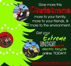 Give more this Christmas. - Extreme Bike