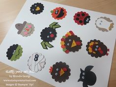 Punch Art Ideas using products from Stampin' Up!® - Stamp Your Art Out! www.stampyourartout.com
