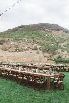 Triunfo Creek Vineyards wedding | Anna Delores Photography