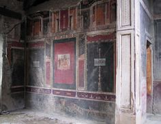 Tablinum, south wall, Casa di M Lucretius Fronto, Pompeii