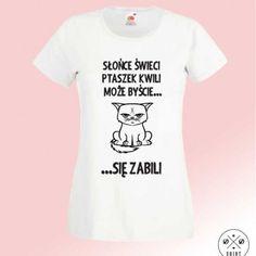 Koszulka damska grumpy cat WOman t-shirt with text