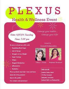 Flyer-I like Health Wellness Event