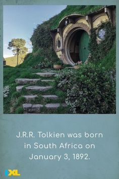 The English author most famous for writing The Hobbit and The Lord of the Rings would be 129 this week! #TBT