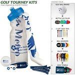 Promotional Basic Cart Caddie Golf Tournament Kit | Customized Golf Gift Kits