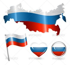 Set of Russia Map, Flag and Buttons #GraphicRiver Set of Russia map, flag and buttons Created: 25May13 GraphicsFilesIncluded: JPGImage #VectorEPS Layered: No MinimumAdobeCSVersion: CS Tags: banner #button #color #concept #country #europe #flag #flagstaff #glossy #government #heart #history #icon #national #patriotism #pole #pride #render #russia #satin #shaft #sign #silk #staff #state #symbol #textile #texture #union