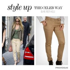 Bar Refaeli is for sure giving us fashion tips on how to keep it classy and clean. Buy these bottoms at www.provogue.com #Sale Upto 60% off + Get EXTRA 10% off, Use code - GET10OFF
