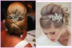 dicas de penteados para casamento exemplos bolo de noiva