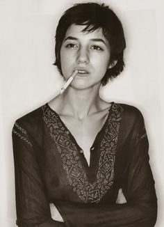Charlotte Gainsbourg -Wanting to do it was much more powerful than the fright.-