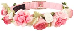 Pink Dog Collar And leash, Puppy Boutique