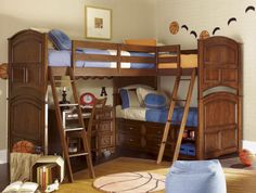 Triple Bunkbed... In case we have a 3rd boy. ;) (Note: WILL NOT BE FOR A WHILE!!!!)