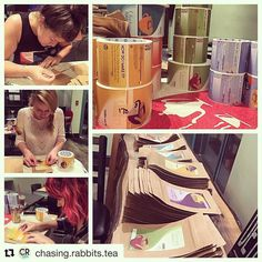 Greenville you're gonna love this new addition to our downtown coming soon! We absolutely loved collaborating with @chasing.rabbits.tea on these adorable labels! Everyone must visit! We know we will! #makelabels #teatime #Repost @chasing.rabbits.tea with @repostapp  We're getting ready to start packaging our tea one label at a time! We love @frontierlabel who brought our label artwork to life! #getexcited #teahappy