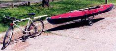 Paddle/Pedal Kayak Paddle, Kayaking, Bicycle, Kayaks, Bike, Bicycle Kick, Bicycles