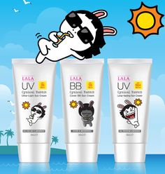 Cynical Rabbit UV and BB Sun Cream #bb #suncream #summer #koreancosmetics