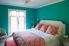 Dunn-Edwards paint colors - Walls: Oasis DET546 Trim: White DEW380 Ceiling: Midspring Morning DE5693