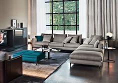 gri L şık dekoratif konforlu koltuk takımı