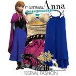 Anna Festival Fashion Disneybound