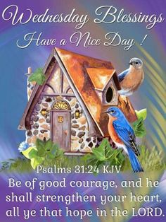 Wednesday Blessings, Have A Nice Day!