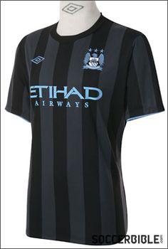 Manchester City European Third Replica 2012-13