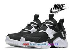 20d2c797a744d Nouveau Chaussures Nike Air Huarache Drift Prix Pas Cher Pour Homme Bleu  Noir AH6804 002