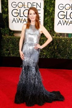 Julianne Moore attends the 72nd Annual Golden Globe Awards at The Beverly Hilton Hotel on Jan. 11, 2015 in Beverly Hills, Calif.