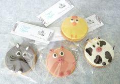 Estrade's cakes: galletas de animales, con fondant