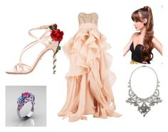 """PINKY PROM"" by vampirecookie on Polyvore"