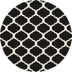 Surya Horizon Charcoal/Ivory Geometric Area Rug Rug Size: