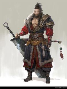 Character Design - Warrior/Wizard