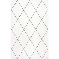 Aubrey Geometric Hand-Tufted Area Rug via Polyvore featuring home, rugs, geometric rug and geometric area rugs