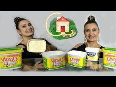 COMO FAZER MARGARINA COM APENAS 1 INGREDIENTE - 1 POTE VIRAR 2 - YouTube Coco, Cheesecake, Easy Meals, Cooking, Recipes, 1, Videos, Homemade Butter, Homemade Dish Soap