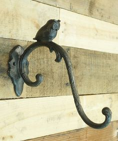 Take a look at this Black Owl Wall Hook by VIP International on #zulily today - if link no longer connects, try searching internet sources using item and/or manufacturer