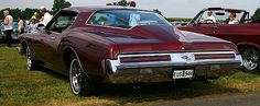 1973 Buick Riviera Boattail.