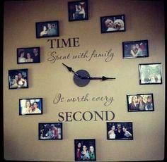 Horloge photo de famille... ...