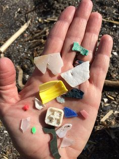 "There is no ""Away"" Plastic from the beaches of Bolinas…"