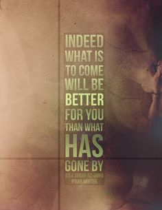 It will get better