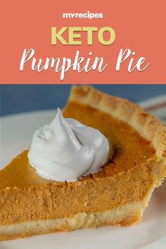Believe it or not, this keto pumpkin pie tastes like the real thing. The sweetness is just right, and unlike other keto desserts, this pie doesn't have a strong aftertaste from keto-approved sweeteners—so if you're not a huge fan of sugar to begin with, you may like this even more.#thanksgiving #thankgivingrecipes #thanksgivingdesserts