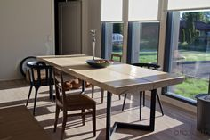 Interior Inspiration, Conference Room, Dining Table, Cottage, Kitchen, Furniture, Home Decor, Cooking, Decoration Home