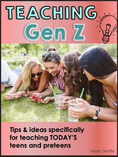 Let's dive into Generation Z!  We'll discuss what characteristics they exhibit, why they exhibit these characteristics, and how we can adjust our teaching to overcome the challenges and enhance the positive features.