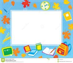 school frames and borders - Buscar con Google