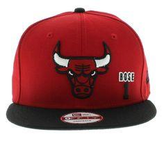 D-Rose Chicago Bulls New Era Cap New Era Hats 27f0447709e6