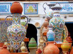 Nabel (Tunisia) capitals de la potteries