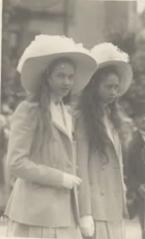 Princess Charlotte and Princess Hilda, Daughters of Grand Duke Wilhelm of Luxembourg