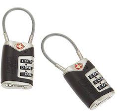 8. Lewis N. Clark Luggage Lock (2 pack)