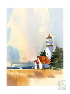 Lighthouse Art Print at Art.com