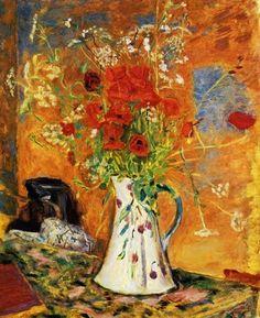 Poppies by Pierre Bonnard (1867 - 1947)