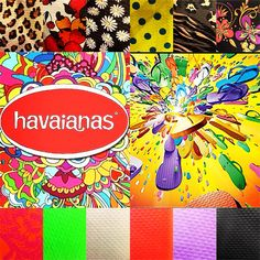 Padre with Havaianas on your feet! Exclusively here at Renee's of South Padre Island! #havaianas #reneesofspi #colorful #summer ☀️
